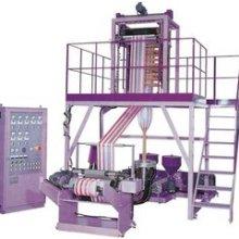 双色彩条吹膜机组 自封袋彩条吹膜机