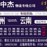 肇庆至四川物流专线价格-电话-厂家