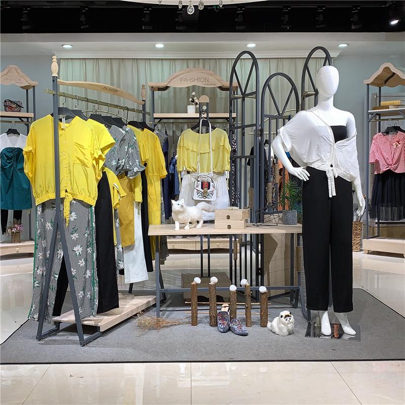 上海一线女装品牌 【拉素 JUE&SUE】专柜撤柜库存尾货批发