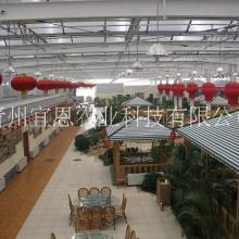玻璃温室大棚、玻璃温室大棚厂家、玻璃温室及其他设施内温度的调控图片