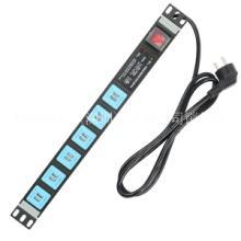 购旺 PDU机柜插座工业插排12位USB插孔排插  防雷插排 UF6图片