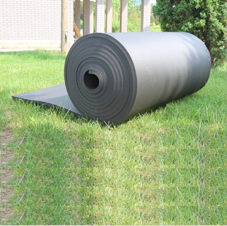 河北20mm铝箔复合橡塑 驰立复合橡塑厂家 B1级难燃橡塑海绵板供应 优质保温橡塑板供应 华美橡塑板管优质橡塑海绵