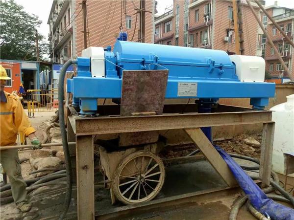 全自动卧螺离心机的石材污水处理专用设备