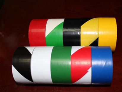警示胶带PVC黑黄斑马线警戒地标贴地面标识彩色划线地板胶带包邮 斑马胶带