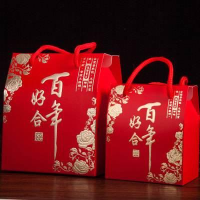 生产供应 婚庆专用手提袋 外贸环保手提袋 方形通用手提袋