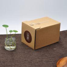 大量批发 天地盖食品礼品盒 特产包装礼品盒 复古牛皮礼品