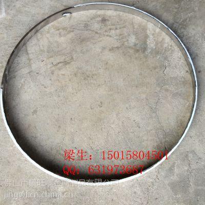 欧式圆形金属不锈钢相框