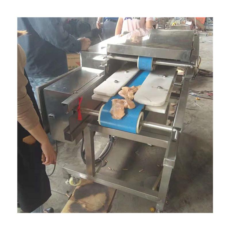厂家供应鸡胸肉切片机 鲜肉切片机 牛羊肉开片机 切割尺寸可定制 切片机