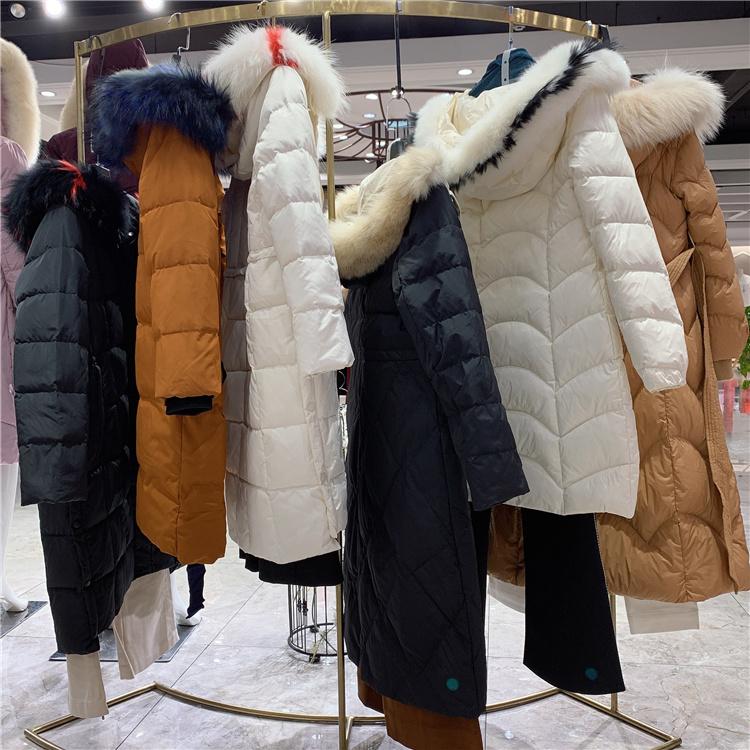 杭州一线女装品牌羽沙国际19冬时装折扣尾货走份P发