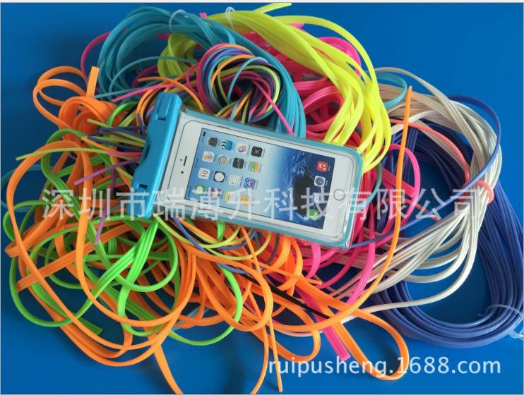深圳手机防水袋夜光条工厂-加工定制-厂家  手机防水袋夜光条 3.0夜光实心