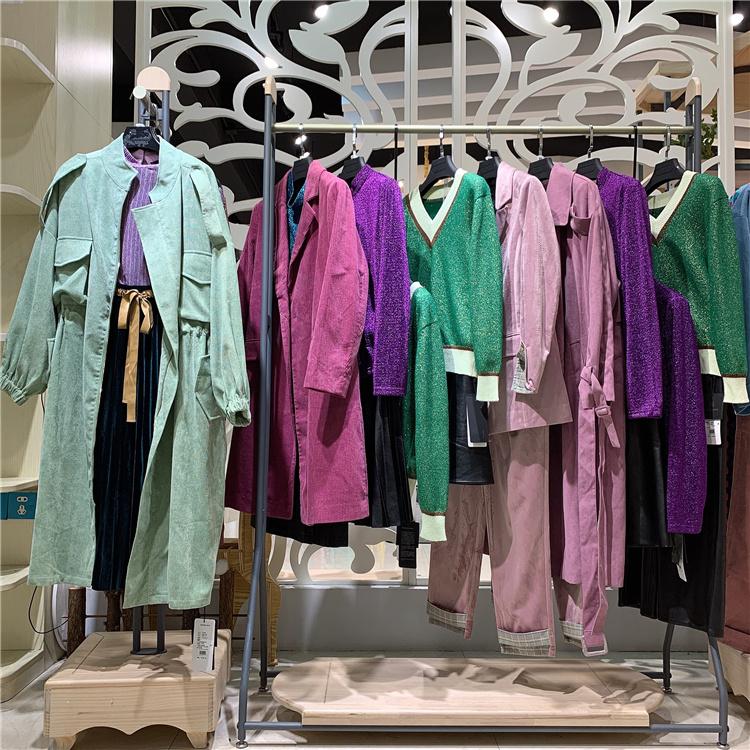 上海女装品牌欧丝蒂雅文商务专柜品牌直播货源