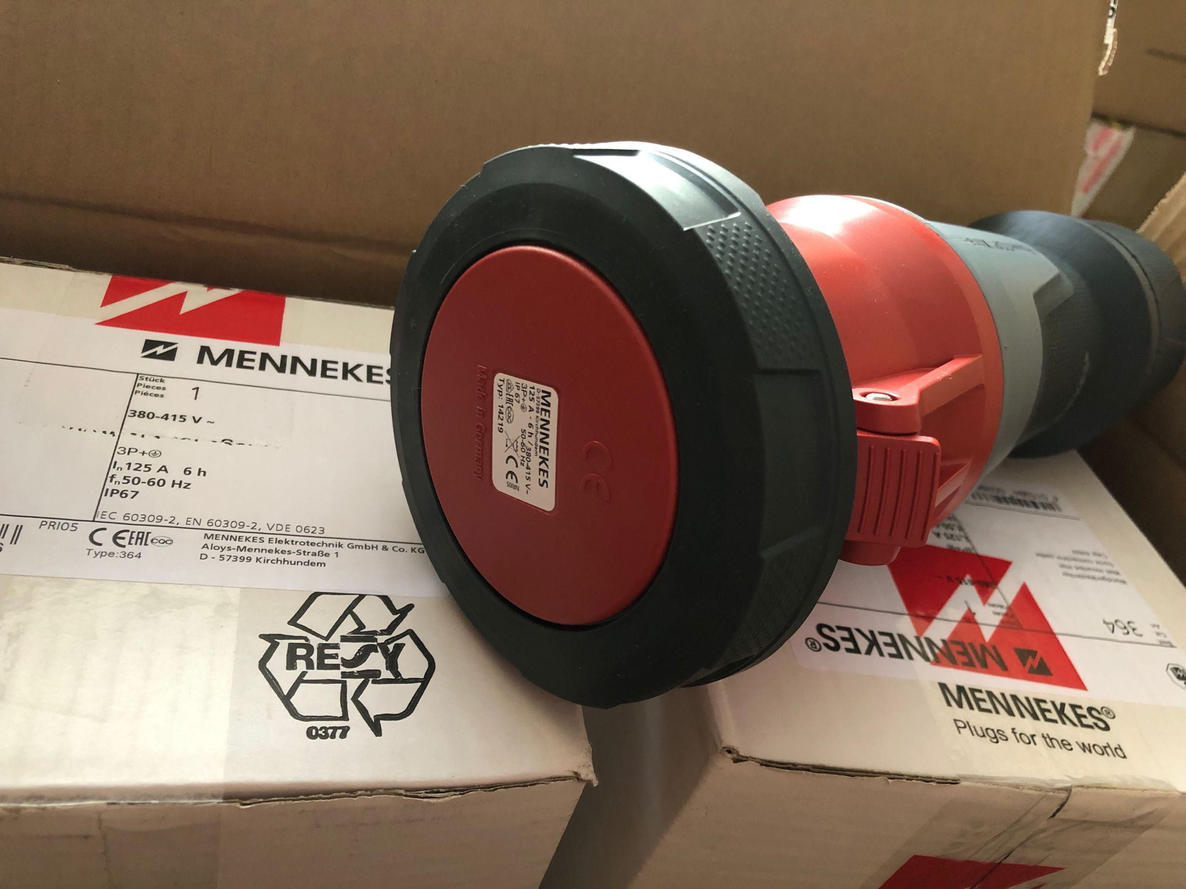 曼奈柯斯明装插座IP44 货号 1369德国进口经销价