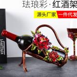 红酒架摆 欧式创意红酒架 创意红酒架 存放红酒架 奢华红酒架摆 创意红酒架摆