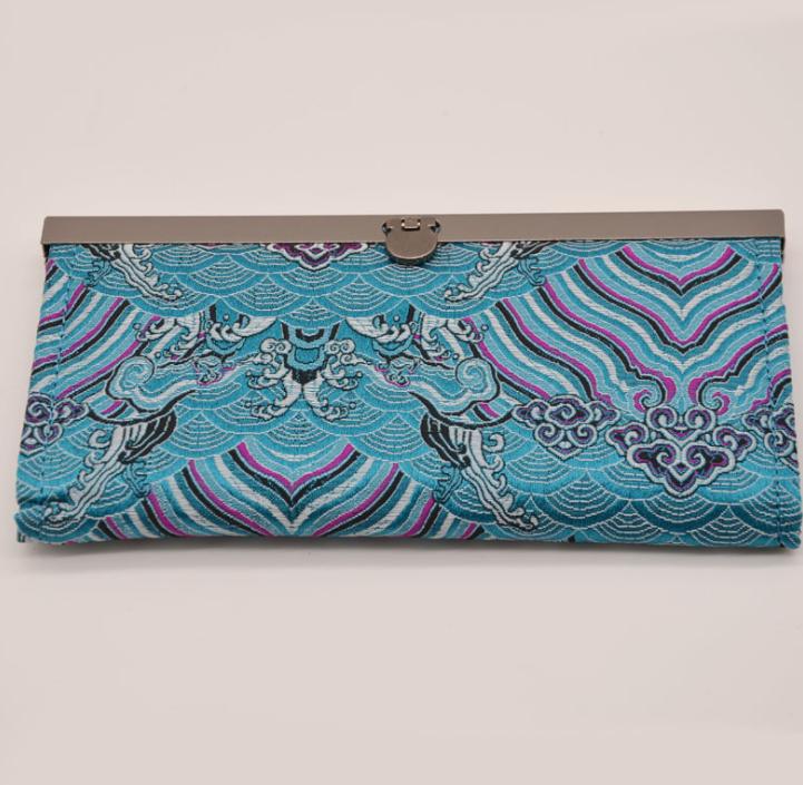 汉服古风钱包女丝绸中国风刺绣古风元素礼物特色小礼品