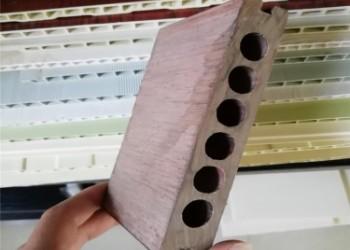 PVC木塑门板生产线设备图片