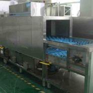 顺德深圳圣托长龙式洗碗机专用洗碟图片