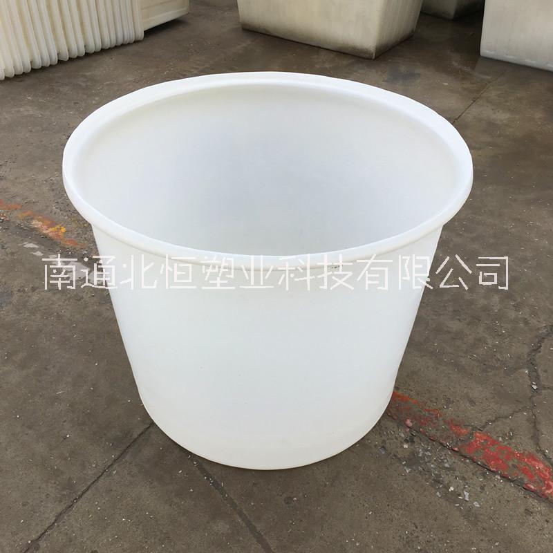 600L塑料圆桶食品酿酒发酵大白桶 摔不烂牛筋塑料圆桶 600L泡菜缸 600斤鸭蛋桶