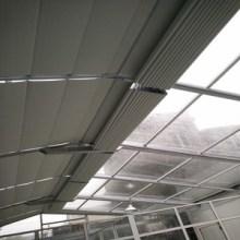 大连电动遮阳帘 阳光房遮阳帘 防紫外线 厂家定制图片