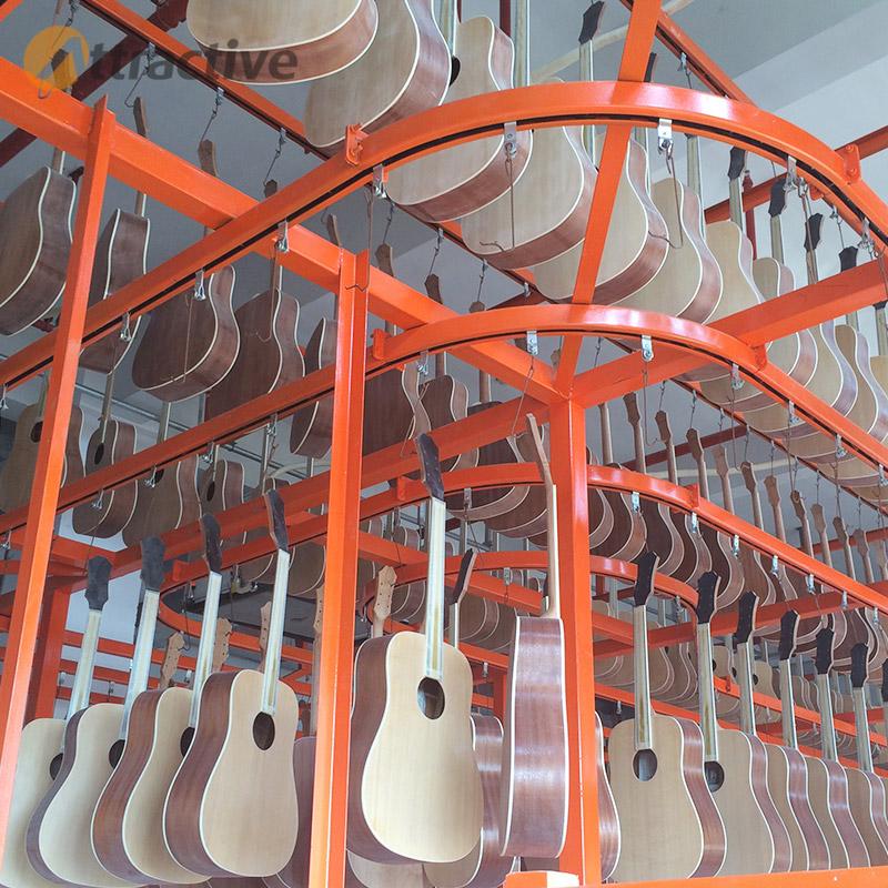 广东创智木器乐器家具喷涂设备 涂装生产线厂家 木器乐器家具涂装生产线