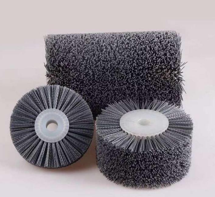 厂家直销尼龙马尾毛刷轮 工业除尘去毛刺PP刷轮 可来图定制