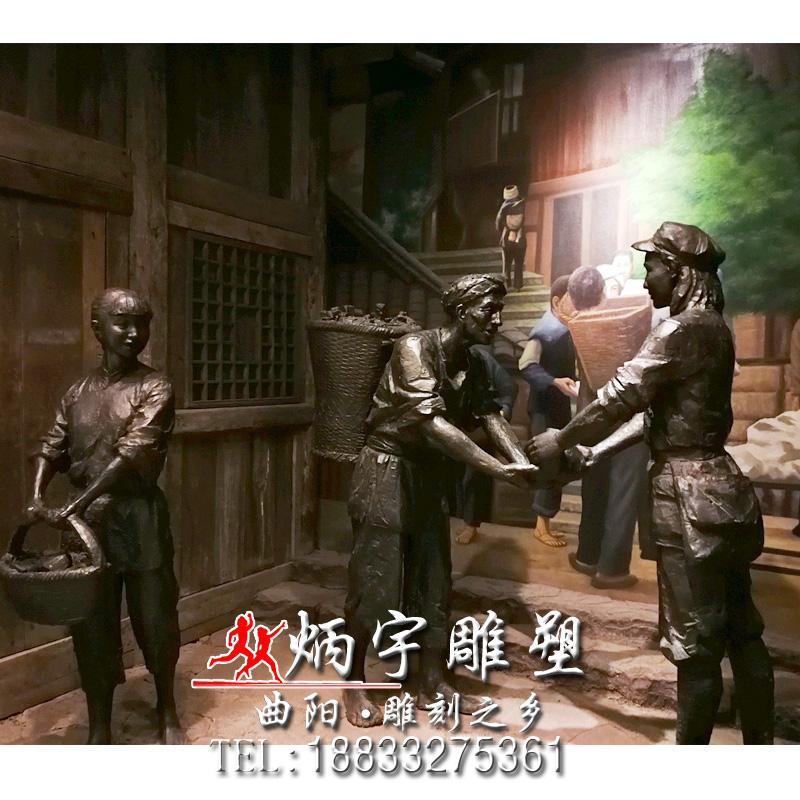 红色娘子军雕塑铸铜人物雕塑厂家 红军万里长征雕塑 革命领袖人物雕塑 八路军老红军雕塑 小红军八路军雕塑 部队文化雕塑