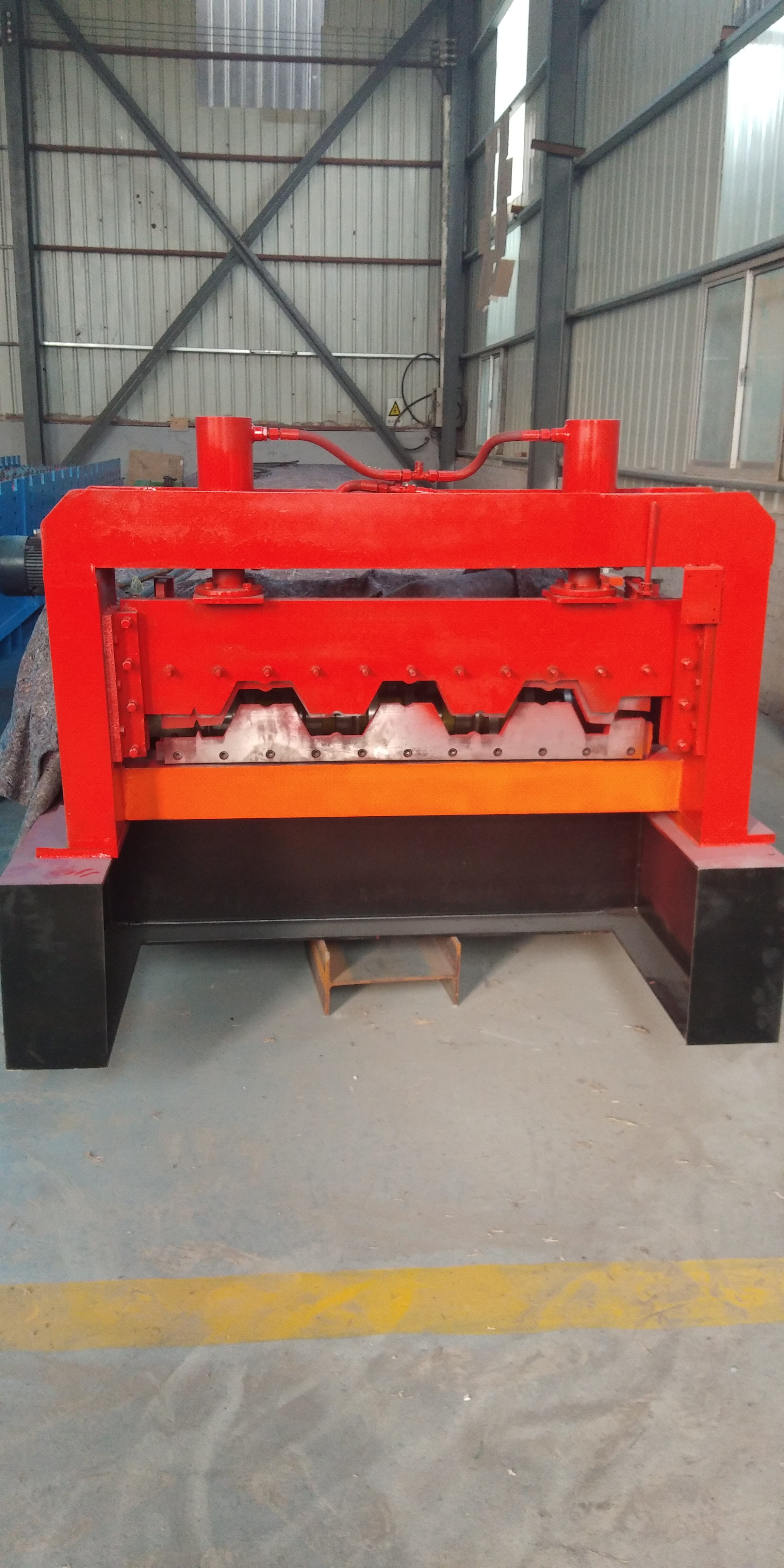 本厂专业生产双层压瓦机单层压瓦机 楼承板设备 河北楼承板设备