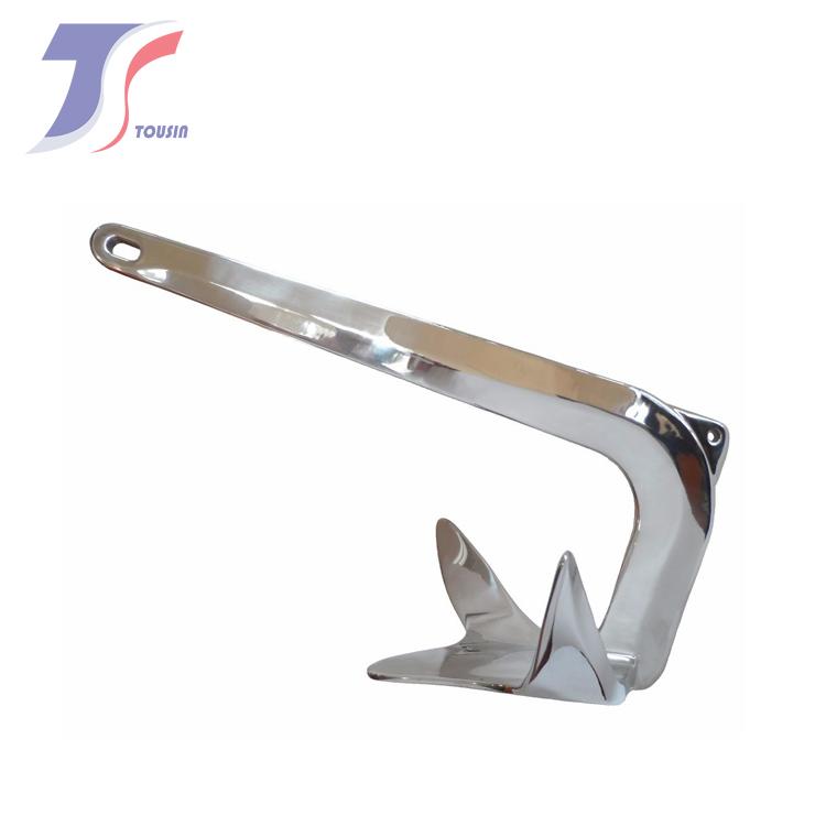 布鲁斯锚 船用不锈钢锚  不锈钢锚  船用锚