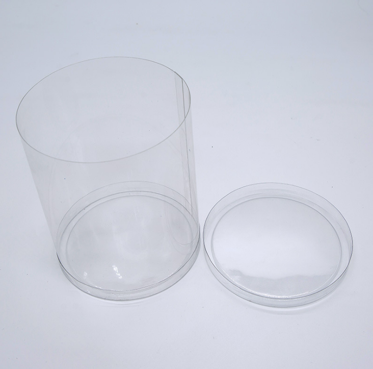 无尘车间专业定制PVC日常用品吸塑圆筒 透明折叠伞吸塑收纳盒批发