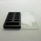 厂家现货供应化妆品美甲吸塑内托 环保指甲片塑料包装盒吸塑盒 包装内托