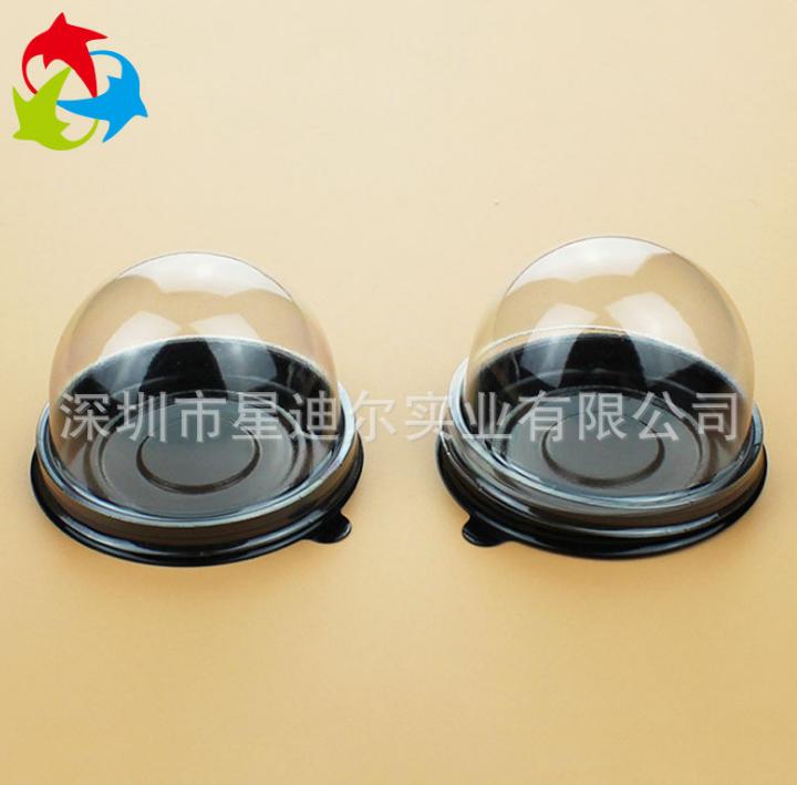 深圳实地吸塑厂生产高档烘焙食品吸塑盒 定制环保PET蛋糕吸塑盒 真空罩