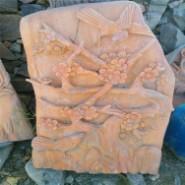 南召石雕工艺品图片
