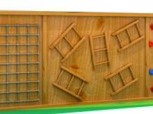 幼儿园安吉游戏/户外木制玩具/小区木质健身设施/儿童攀爬架