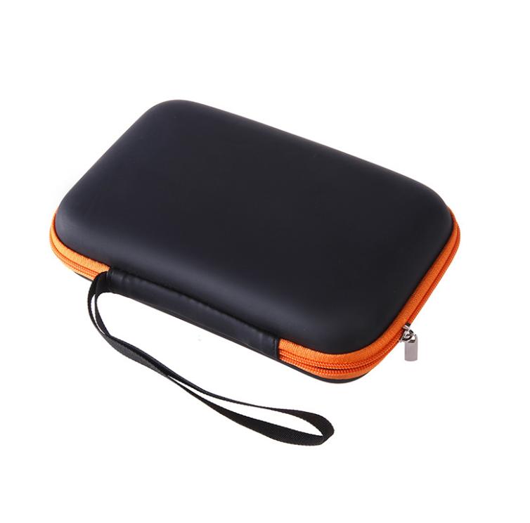 数据线电源收纳盒 数据数码配件多功能旅行包 方形蓝牙耳机收纳