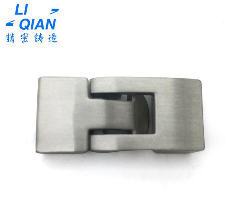东莞不锈钢304饰品磁铁扣定制 五金机械模具配件熔模精密铸造