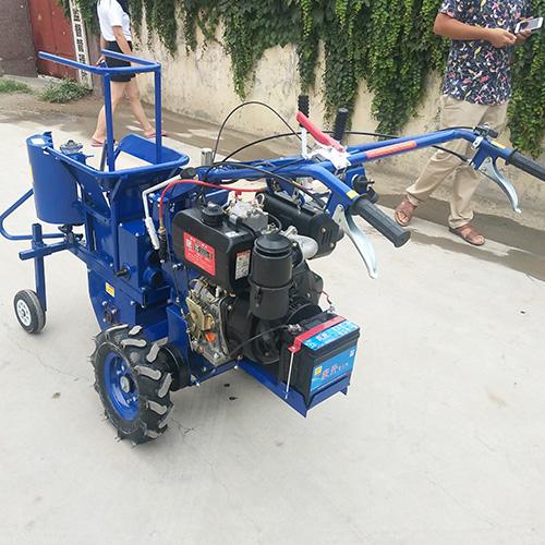 莱特多功能玉米收割机 单人玉米收割机