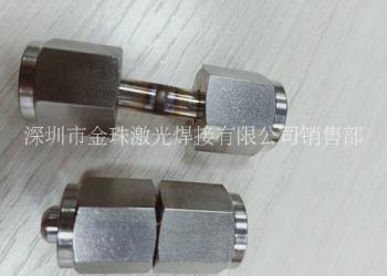 不锈钢机械配件大功率激光焊接图片