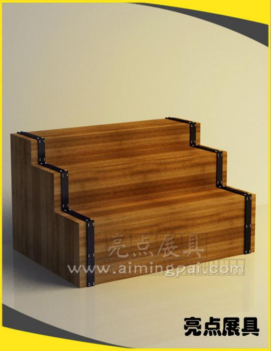 加工定制精品优质地台架 服装箱包地台架fz42 木质地台柜