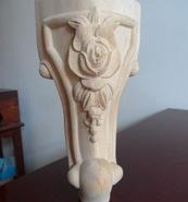 实木雕花凳子脚图片