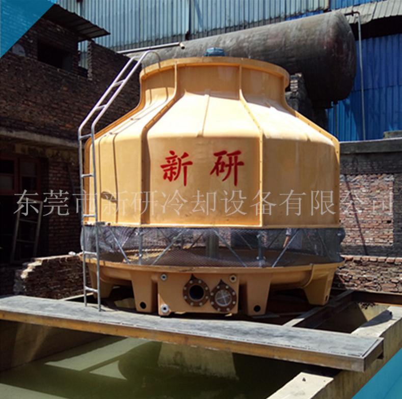 厂家供应玻璃钢高温型冷却水塔 200T/吨高温冷却塔 降温效果快 玻璃钢冷却水塔