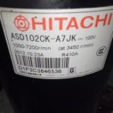 日立空调压缩机 ASD102CK-A7JK 变频压缩机 空压机 配件