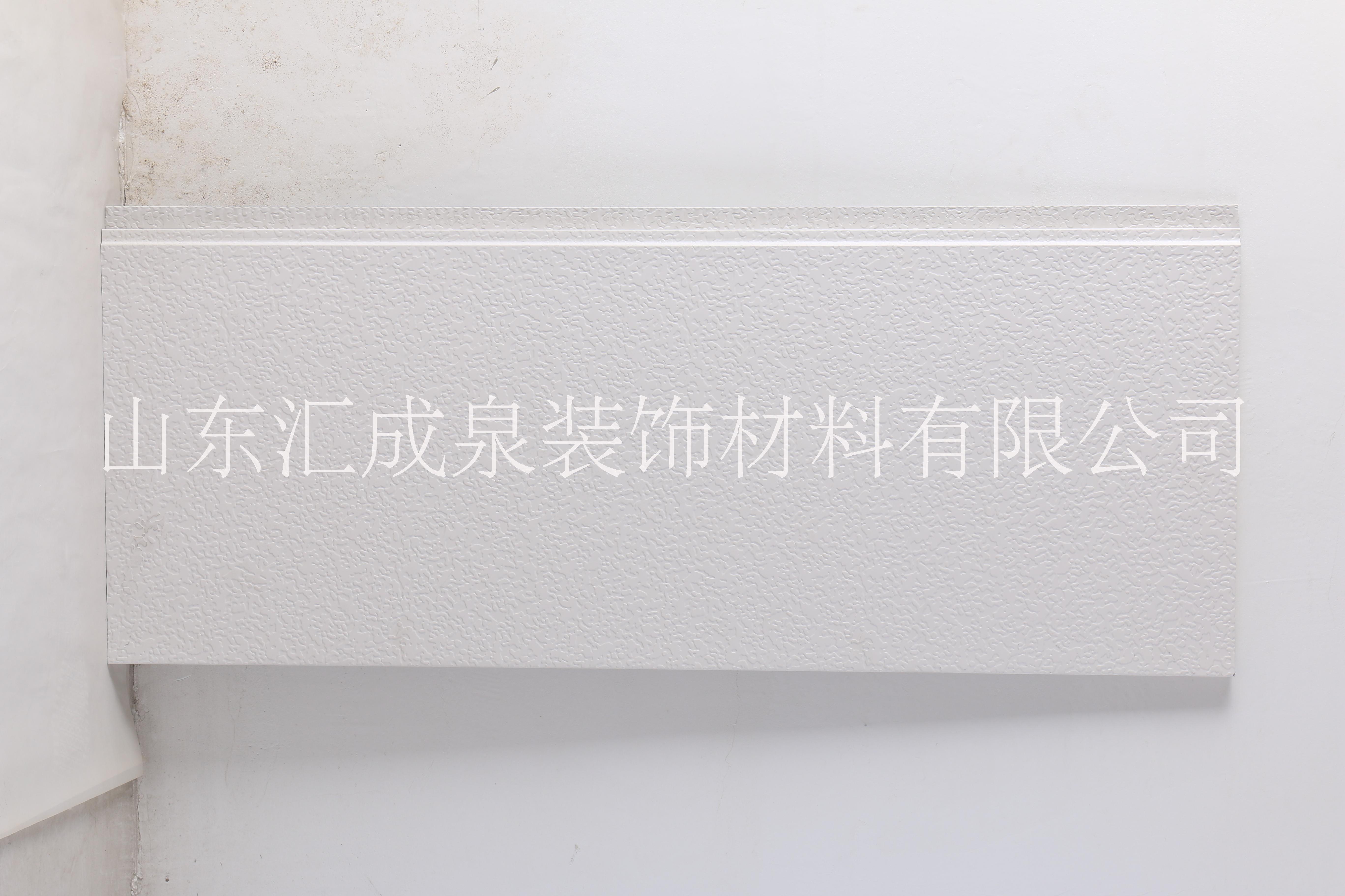 山东慧诚生产供应EPS泡沫聚苯板金属彩钢夹芯板