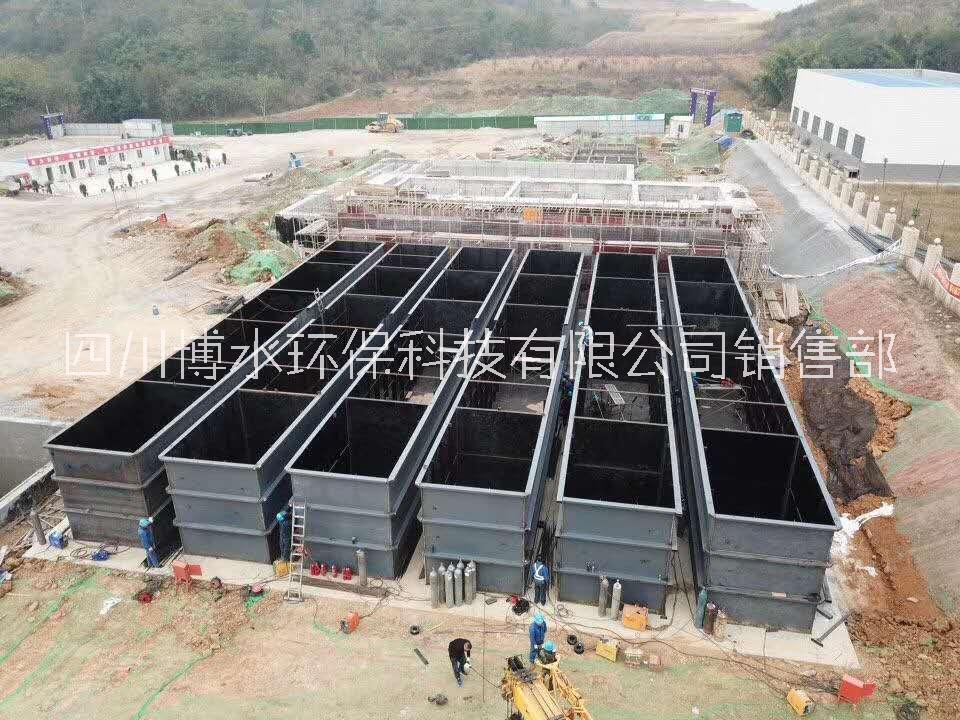 绵阳养殖屠宰污水处理,日处理量100m³,达一级A排放标准