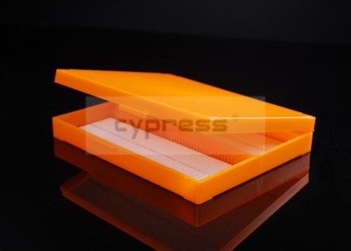 柏丞Cypress5片25片50片100片 载玻片盒