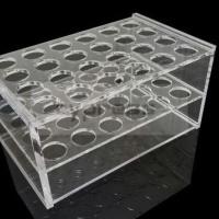 柏丞Cypress 10ml-15ml 24孔有机架有机玻璃离心管架7ml-10ml有机架5ml有机架