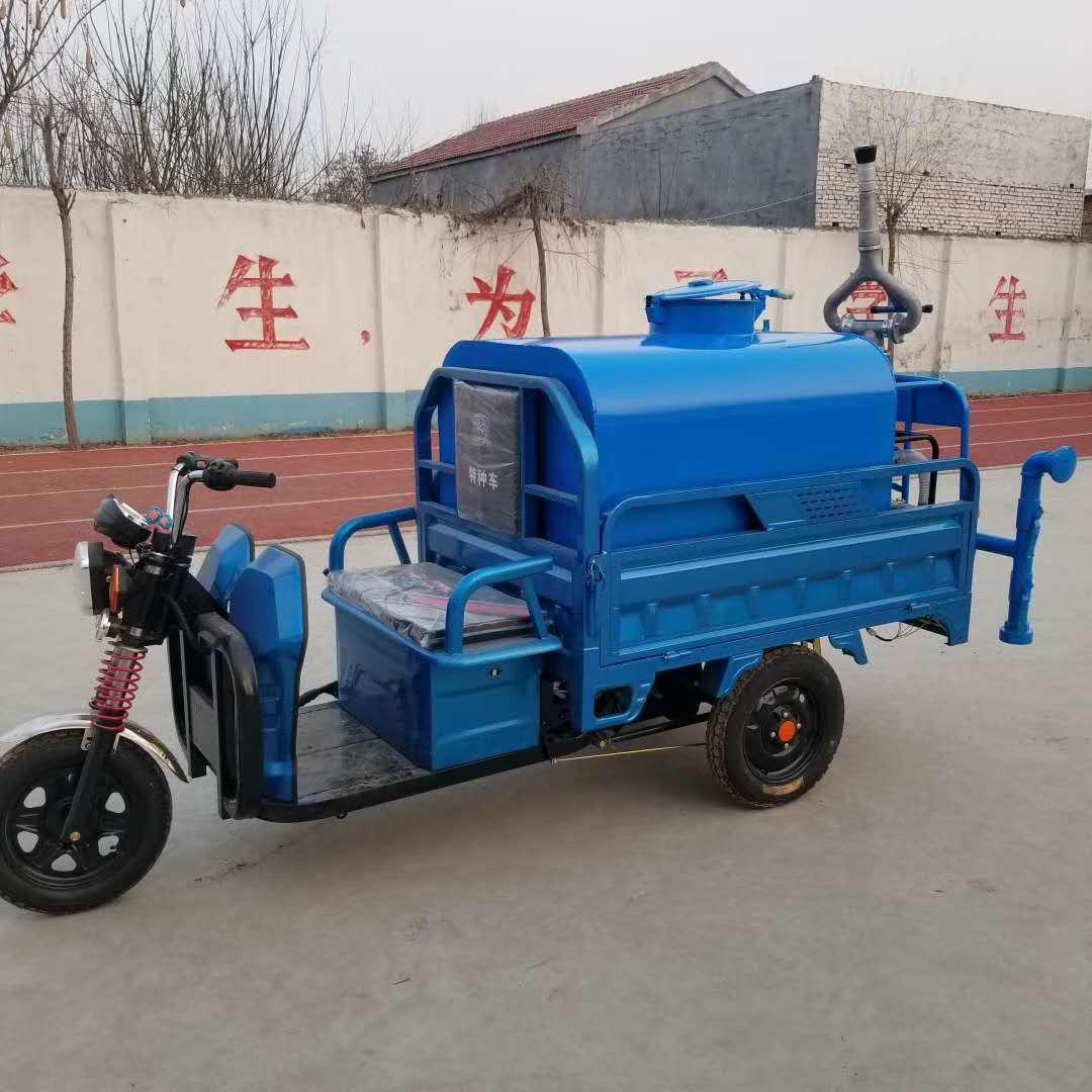厂家直销小型电动三轮洒水车多功能电动雾炮喷洒水车水炮车