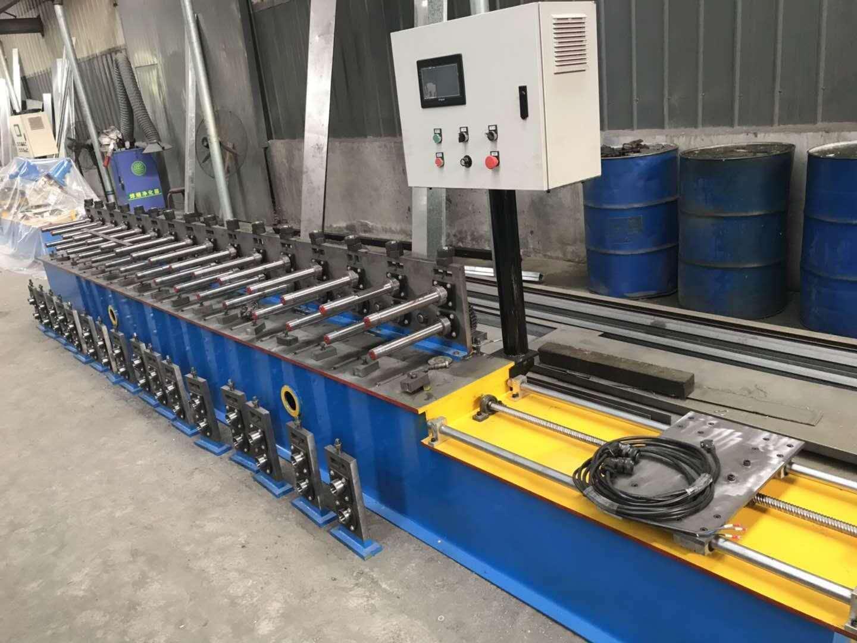 大棚设备  快速卡槽机 蔬菜棚机械大棚金属卡槽机