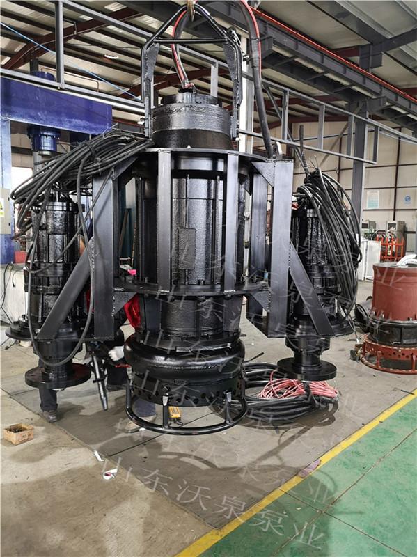 耐磨潜水渣浆泵 大功率抽砂泵 三相电新一代