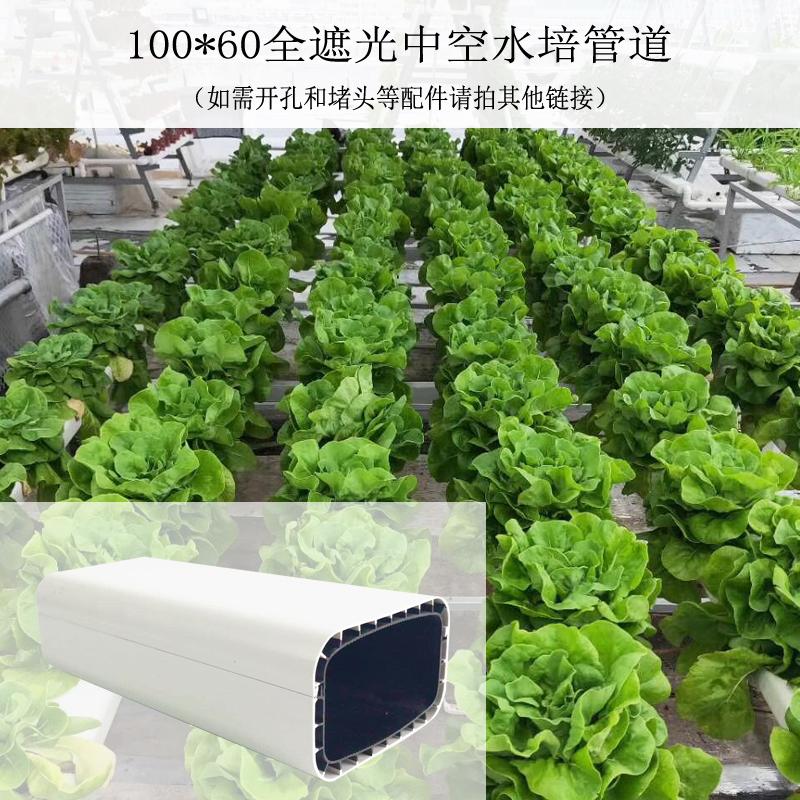 阳台大棚蔬菜无土栽培设备100*60全遮光中空水培管道