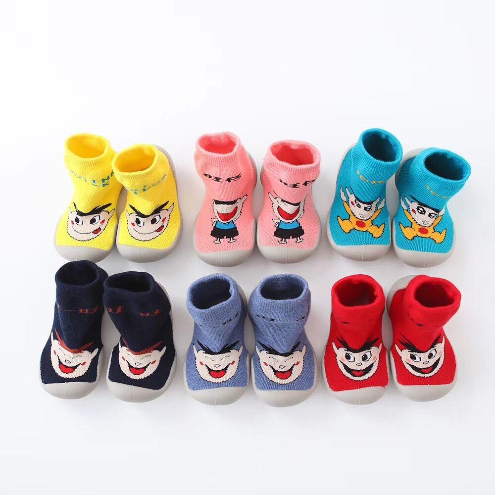 同款韩国秋冬款儿童宝宝袜子鞋男女童运动鞋 幼儿园男童学步鞋