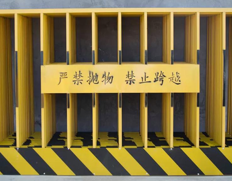 工地建筑临边防护栏 小区公路隔离基坑护栏 道路施工竖管警示栏